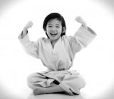 Little kids judo