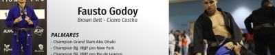Workshop Brazilian Jiu-Jitsu - Leg Drag & Back Taking - Fausto Godoy